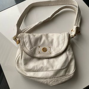 Marc by Marc jacobs white side bag